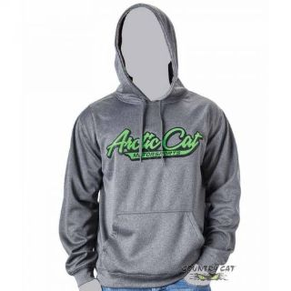 Purchase Arctic Cat Men's Arctic Cat Hoodie Hooded Sweatshirt Sweater - Gray - 5259-48_ motorcycle in Sauk Centre, Minnesota, United States, for US $35.99