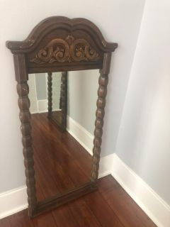 Twin Solid Wood Mirrors