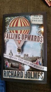 CLEARANCE Falling Upwards: How We Took to the Air by Richard Holmes Hardcover Book
