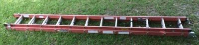 Werner Fiberglass Extension Ladder 24 ft
