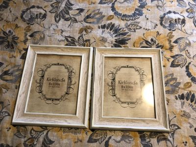 8x10 Rustic White Picture Frames