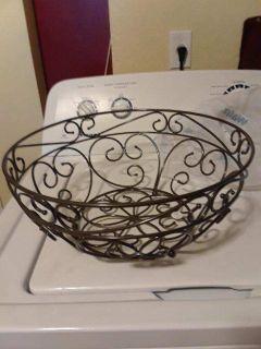Princess House fruit basket