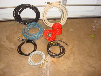 YOUR CHOICE OF AIR HOSES