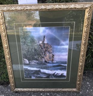11x14 Beautiful Lighthouse Picture