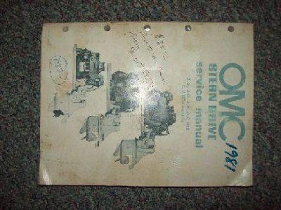 $15 OMC Stern Drive Manual