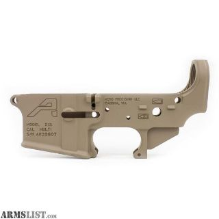 For Sale: Aero Precision AR15 Stripped Lower Receiver, Gen 2 - FDE Cerakote