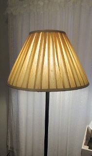 floor lamp with new shade very nice