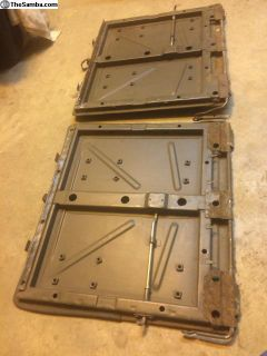 Olive Green Rear seat backs M63 military option