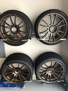 OZ Racing Centerlock wheel and winter tires set for Turbo, TurboS, GT3