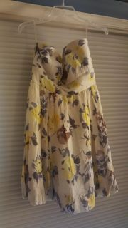 Charlotte Rouse Strapless size 10 dress