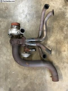 Turbo Header & Exhaust