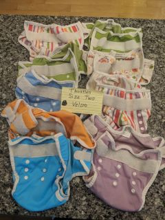 Thirsties used cloth diaper covers