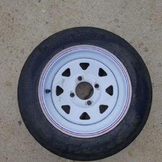 Trailer Spare Tire 4.80x12