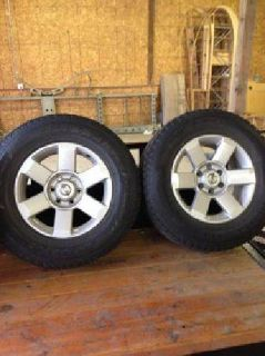 $500 Nissan Titan/Armada snow tires and rims