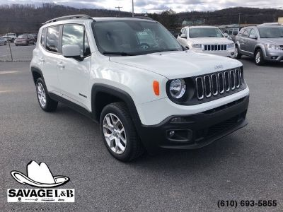 2017 Jeep Renegade (Alpine White)