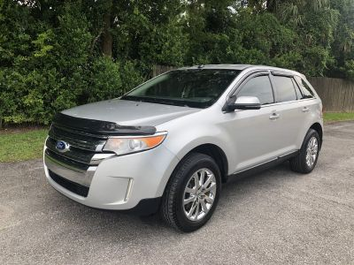 2012 Ford Edge Limited (Silver)