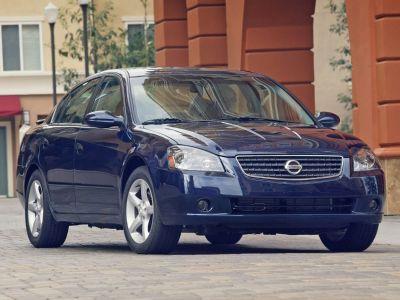 2006 Nissan Altima 2.5 (Satin White)