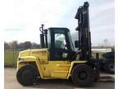 2004 Diesel Hyster H210HD Pneumatic Tire 4 Wheel Sit Down