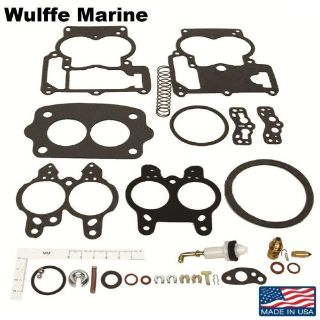 Find Carb Kit Rochester 2 Barrel for 1964-1983 Mercruiser 2.5L 3.0L & Inline 6 cyl motorcycle in Mentor, Ohio, United States, for US $17.19
