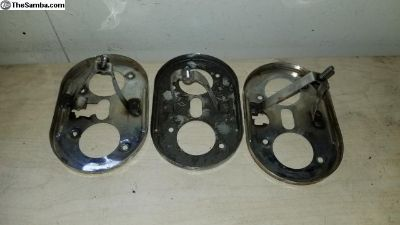 Busted air cleaner base plates Weber IDF Dellorto