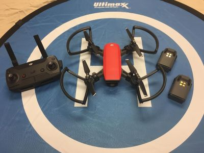 DJI Spark Drone bundle with 3 Batteries 64GB Memory card, plus much more