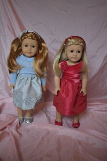American girl dolls Mia and Kailey Retired