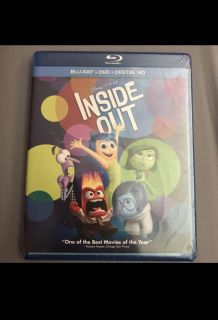 Inside Out Blu Ray DVD