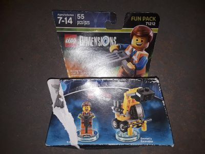 Lego dimensions Emmet from Lego Movie