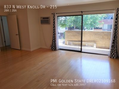 Lovely 2bed 2bath condo in West Hollywood!