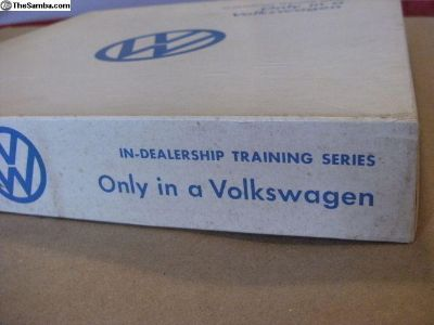 RARE VW Dealer SalesTrainingKit, w/film and record