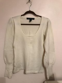 Cream White French Connection Sweater