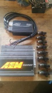 Sell Mustang AEM ECU AEM Injector driver and Delphi 96lb Injector motorcycle in Ellington, Connecticut, United States