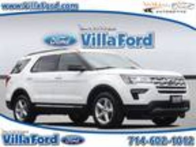 Used 2019 Ford Explorer Oxford White, 4.65K miles