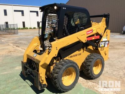 2015 (unverified) Cat 242D Skid-Steer Loader