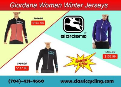 Best Offers on Giordana Women Winter Jersey | Classic Cycling