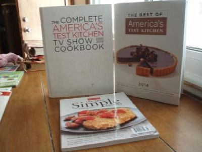 $40 America's Test Kitchen Books