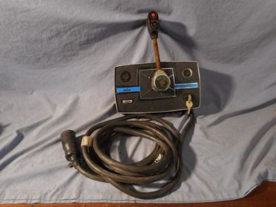 Purchase 1976-79 Mercury V-6 Outboard Motor Remote Control Box and Wiring ESTATE FIND motorcycle in Osceola, Pennsylvania, United States, for US $99.95