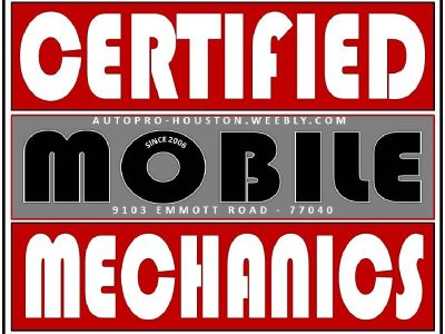 Mobile Mechanics Serving Houston, Katy, Spring Branch, Jersey Village