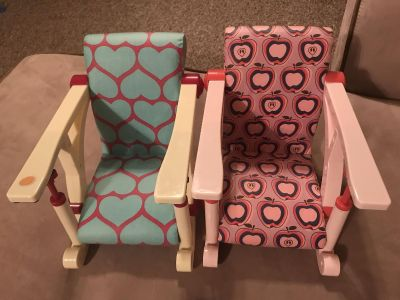 2 Our Generation Chairs
