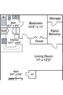 2 bedrooms - Pointe is the address for beautiful apartments in Jacksonville, Florida.