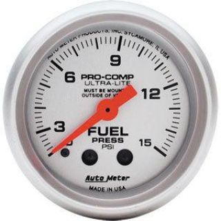 Sell AutoMeter 4313 Ultra-Lite Fuel Press Gauge w Isolator motorcycle in Suitland, Maryland, US, for US $165.83