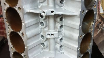 Small Block Chevy Aluminum Block