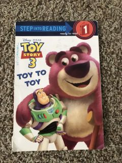 Toy Story 3 Level 1 reader