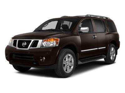 2014 Nissan Armada Platinum (Gun Metallic)