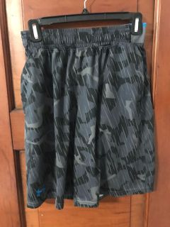 UA shorts size men s sm. A couple little picks and pulls. Nothing major.