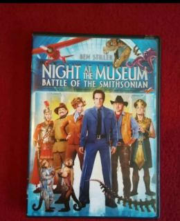 Night at the Museum, Battle of the Smithsonian dvd