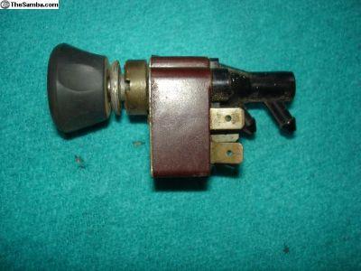 1967 Wiper Switch 2 Speed Ger.