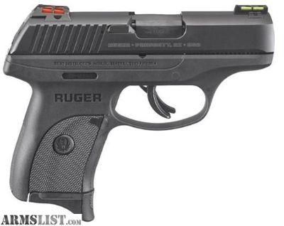 For Sale: Factory New RUGER LC9s - 9MM - W/HIVIZ LIGHTWAVE FIBER OPTIC SIGHT SYSTEM