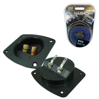 Sell Car Audio Accessory Subwoofer Box Enclosure Wire Plastic Terminal Cup Amp Kit motorcycle in Nixa, Missouri, United States, for US $18.85