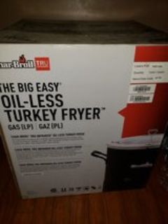 charbroil infrared Turkey fryer